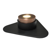 1-Watt LED Bronze Puck Light with 6-Watt Transformer