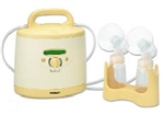 Medela Symphony Hospital Breast Pump With Accessory Dual Kit and bottle holder