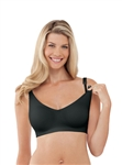 Bravado Body Silk Seamless Nursing Bra Small - Black
