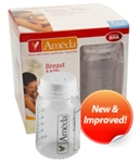 Ameda Breast Milk Storage Bottles 4/Pk