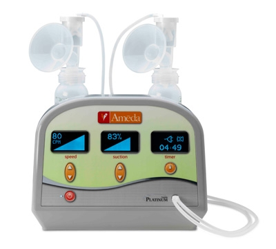 The Ameda Platinum Hospital Grade Electric Breast Pump Is On Sale