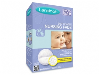 Lansinoh Disposable Nursing Bra Pads 60's