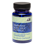 More Milk Moringa 60 capsules by Motherlove