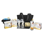 Medela Pump in Style Advanced On The Go Tote Breast Pump with Free Bundle