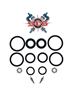 "Works Performance AHRMA Shock Seal Kit - 1/2"" with Rezzy"