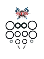 "Works Performance AHRMA Shock Seal Kit (1/2"" & 5/8"") 