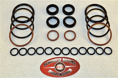 "Fox 2.5"" Triple Bypass Shock Rebuild Seal Kit 