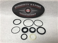 Ford Raptor Fox 2.5 Internal Bypass Shock Rebuild Seal Kits - Revision A & B | Schmidty Racing