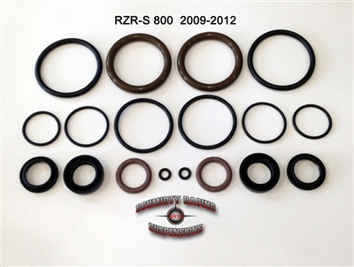 "Polaris 1.5"" Fox Podium/Performance RZR 800S  Shock Rebuild Seal Kit (Front/Rear) 2 seat model"