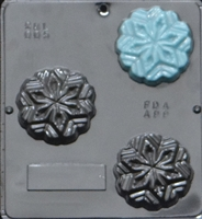 005 Snowflake Soap or Chocolate Candy Mold