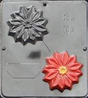 006 Poinsettia Soap Mold