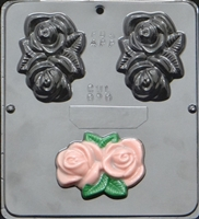 020 Roses soap or Chocolate Candy Mold