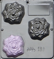 024 Rose Soap or Chocolate Candy Mold