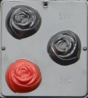 029 Rose Soap or Chocolate Candy Mold
