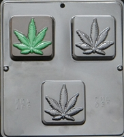 031 Hemp Marijuana Soap or Chocolate Candy Mold