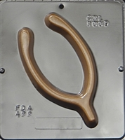1009 Wish Bone Chocolate Candy Mold