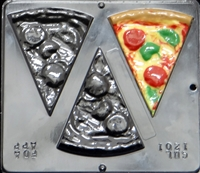 1201 Pepperoni Pizza Chocolate Candy Mold