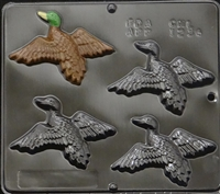 1234 Duck in Flight Chocolate Candy Mold