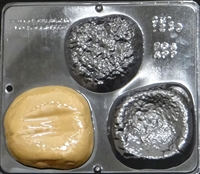 1238 Hamburger Assembly Chocolate Candy Mold