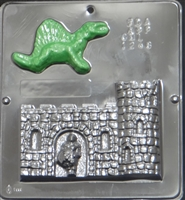 1248 Dungeon & Dragon Chocolate Candy Mold