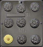 1251 Daisy Chocolate Candy Mold