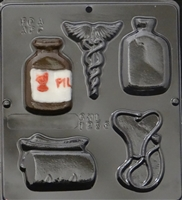 1256 Doctor Medical Assortment Chocolate Candy Mold