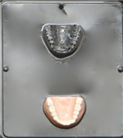 1258 False Teeth Chocolate Candy Mold