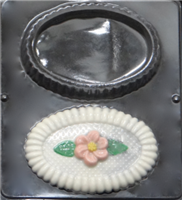 1259 Oval Box with Cover Chocolate Candy Mold