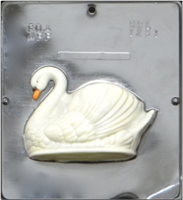 1281 Swan Assembly Facing Left Chocolate Candy Mold