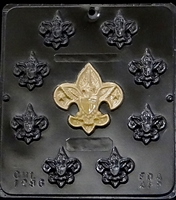 1296 Boy Scout Chocolate Candy Mold