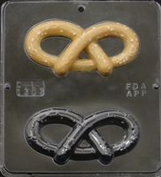 1303 Pretzel Chocolate Candy Mold