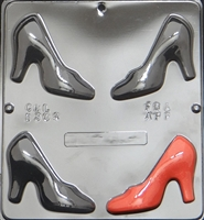 1304 Shoes Assembly Chocolate Candy Mold
