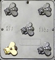 1322 Bee Chocolate Candy Mold