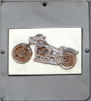 1331 Motorcycle Chocolate Candy Mold