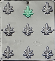 1337 Marijuana Leaf Pot Chocolate Candy Mold