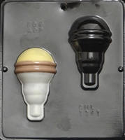 1341 Light Bulb Chocolate Candy Mold