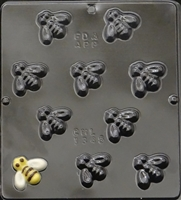 1345 Bee Bite Size Chocolate Candy Mold