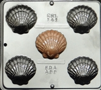 141 Large Sea Shells Chocolate Candy Mold