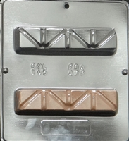 145 Fund Raising Bar Chocolate Candy Mold
