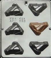 151 Triangle Pieces Chocolate Candy Mold