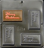 1513 Merry Christmas Chocolate Candy Mold