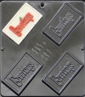 1514 Greetings Chocolate Candy Mold