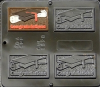 1528 Congratulations Chocolate Candy Mold