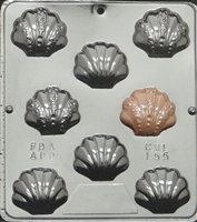 155 Shell Assembly Chocolate Candy Mold