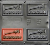 1563 Lacrosse Chocolate Candy Mold