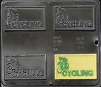 1565 Cycling Chocolate Candy Mold