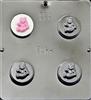 1603 Teddy Bear Oreo Cookie Chocolate Candy Mold