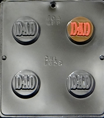 "1629 ""Dad"" Oreo Cookie Chocolate Candy Mold"