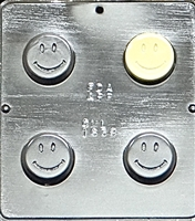 1638 Smiley Face Oreo Cookie Chocolate Candy Mold
