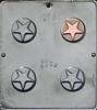 1640 Star Oreo Cookie Chocolate Candy Mold